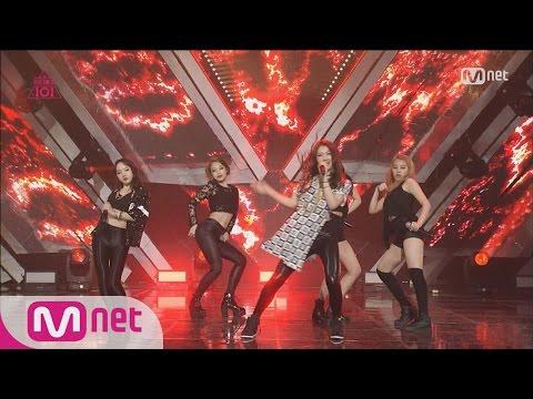 Produce 101 Major Girl Crush! – Group 1 2NE1 ♬FIRE EP03 20160205