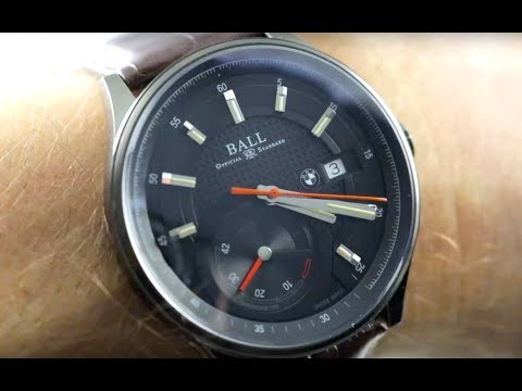 Ball Watch For BMW Power Reserve Chronometer PM3010C-L1CJ-BK Ball Watch Review