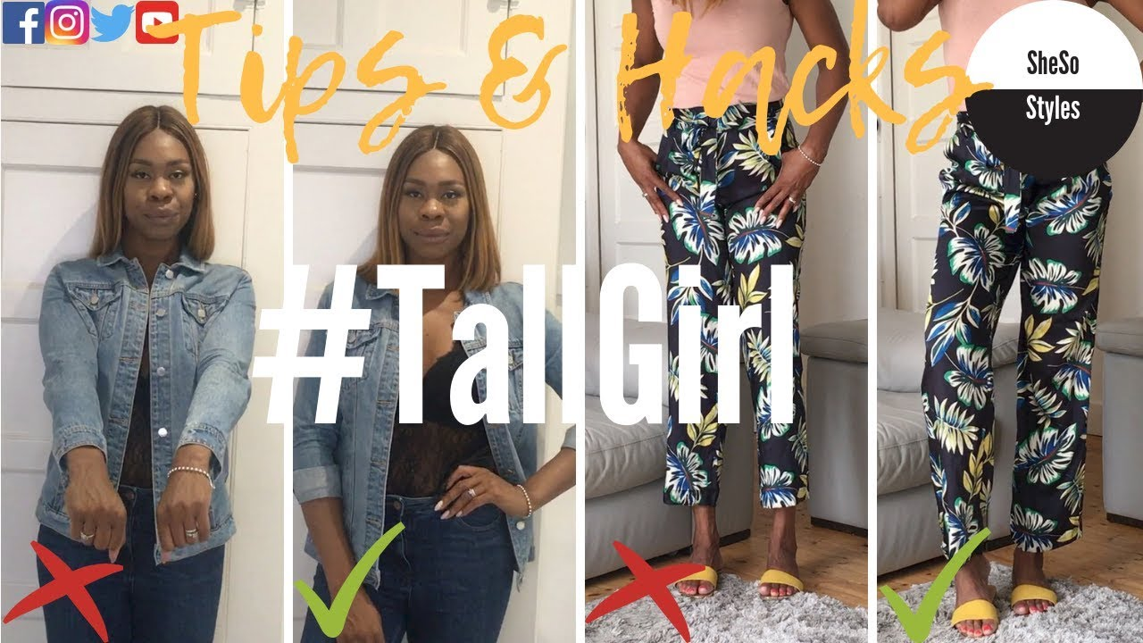 Tall Girls | How to Style | Fashion Hacks | Style Tips | Outfit Ideas | Clothes | SheSo Styles