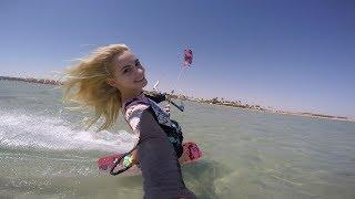 Kitesurfing Seahorse Bay, Egypt