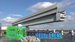 巨大な海鳥の止まり木 ~羽田可動橋~