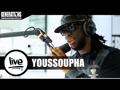 Youtube: Youssoupha – Chanson Française (Live des studios de Generations)