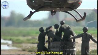 Hellenic Army Aviation UH-1H Huey  External Loads Testing