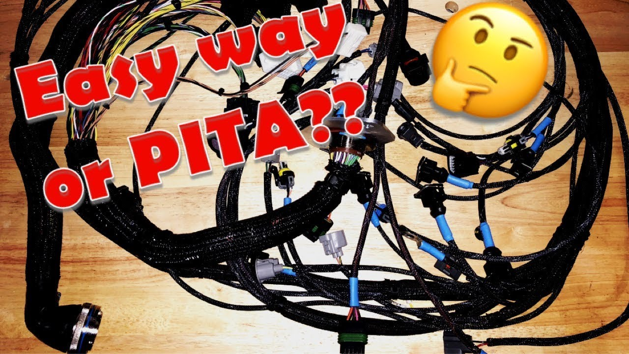 hight resolution of tweak u0027d performance supra engine harness youtubetweak u0027d performance supra engine harness