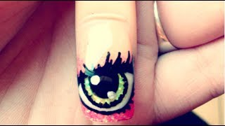 How to acrylic nails - Eyeball