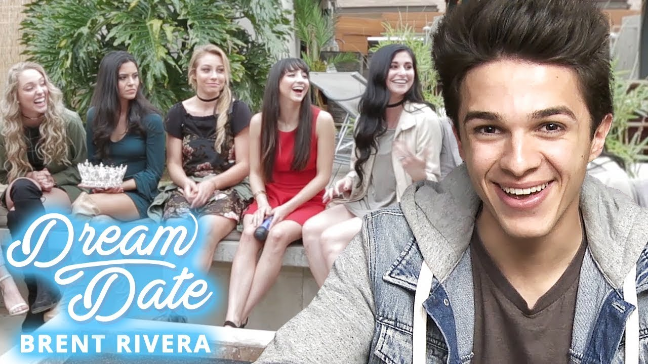 BRENT RIVERA Chooses A GIRLFRIEND?! Dream Date With Brent