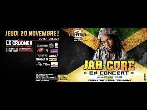 Jah Cure & Band-Live @ Rouen (France)-20/11-2014 [Life we Live Tour]
