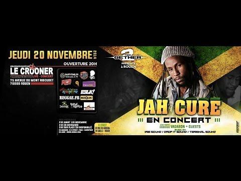 Jah Cure & Band-Live @ Rouen (France)-20/11-2014 [Life we Live Tour]