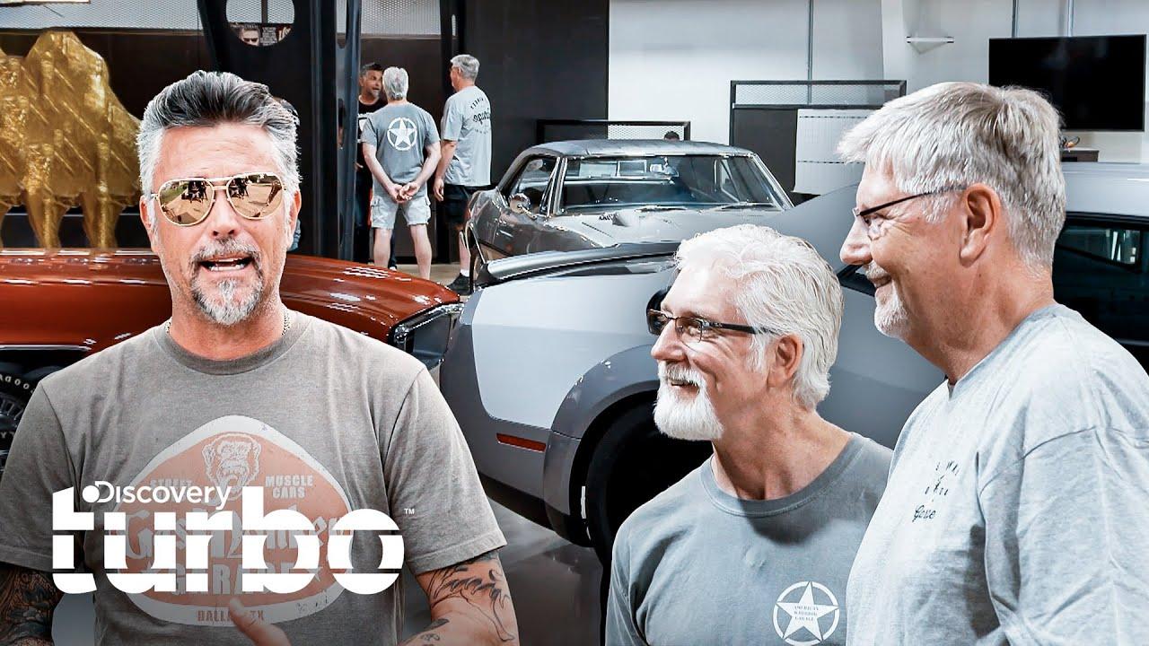 Richard comparte sus secretos con veteranos de guerra | Gas Monkey al Rescate | Discovery Turbo