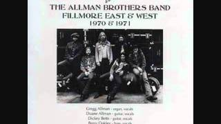 Allman Brothers Band - In Memory Of Elizabeth Reed 【Fillmore East 1971】