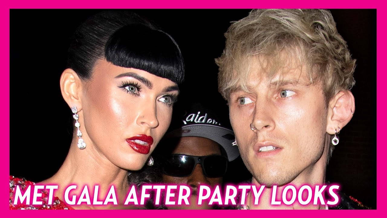 Megan Fox Attends Met Gala After-Party With Machine Gun Kelly ...