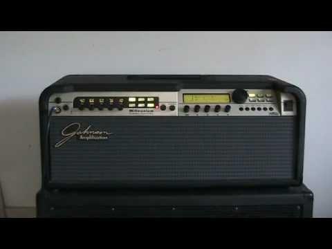 johnson millennium j250h stereo guitar amplifier youtube. Black Bedroom Furniture Sets. Home Design Ideas