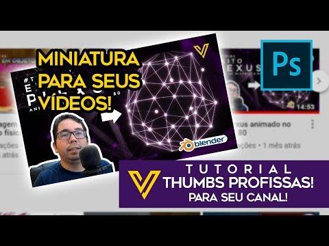 Criando Thumbs para os seus vídeos com o photoshop! - Tutorial ! thumbnail