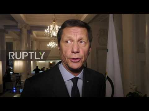 Switzerland: Zhukov urges restoration of full powers to Russia's anti-doping agency