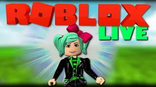 *PLAYING YOUR CREATIONS* Roblox live with SallyGreenGamer
