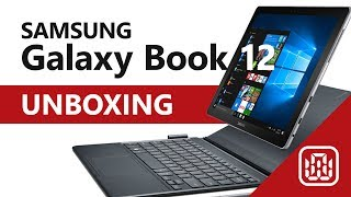 Samsung Galaxy book 12 - Unboxing