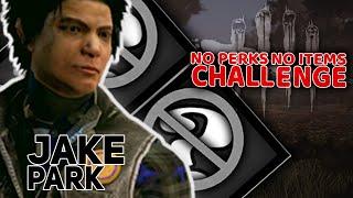 Jake Park | NO perks NO items Challenge | Dead By Daylight #4 | w/ Guga Tomek