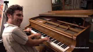 Free Flow Piano Improvisation for 4 Hands with Ben Morgan