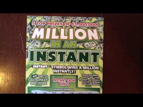 NEW: $20 Million In An Instant - PA Lottery