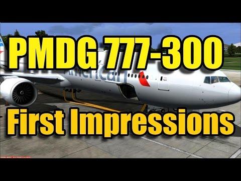 FSX PMDG 777-300ER IMPRESSIONS