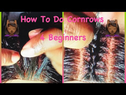 Tutorial With J: How To Braid to the Scalp 4 Beginners (STEP BY STEP)