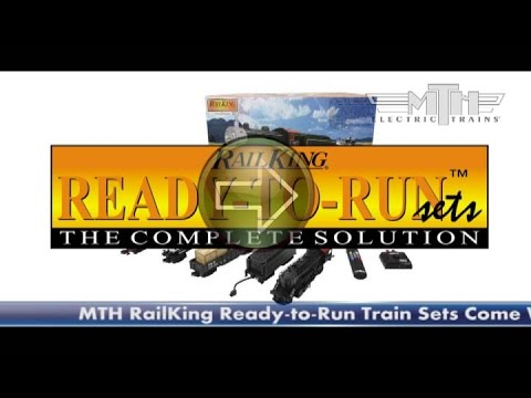 MTH RailKing 2011 RTR Train Sets.mpg