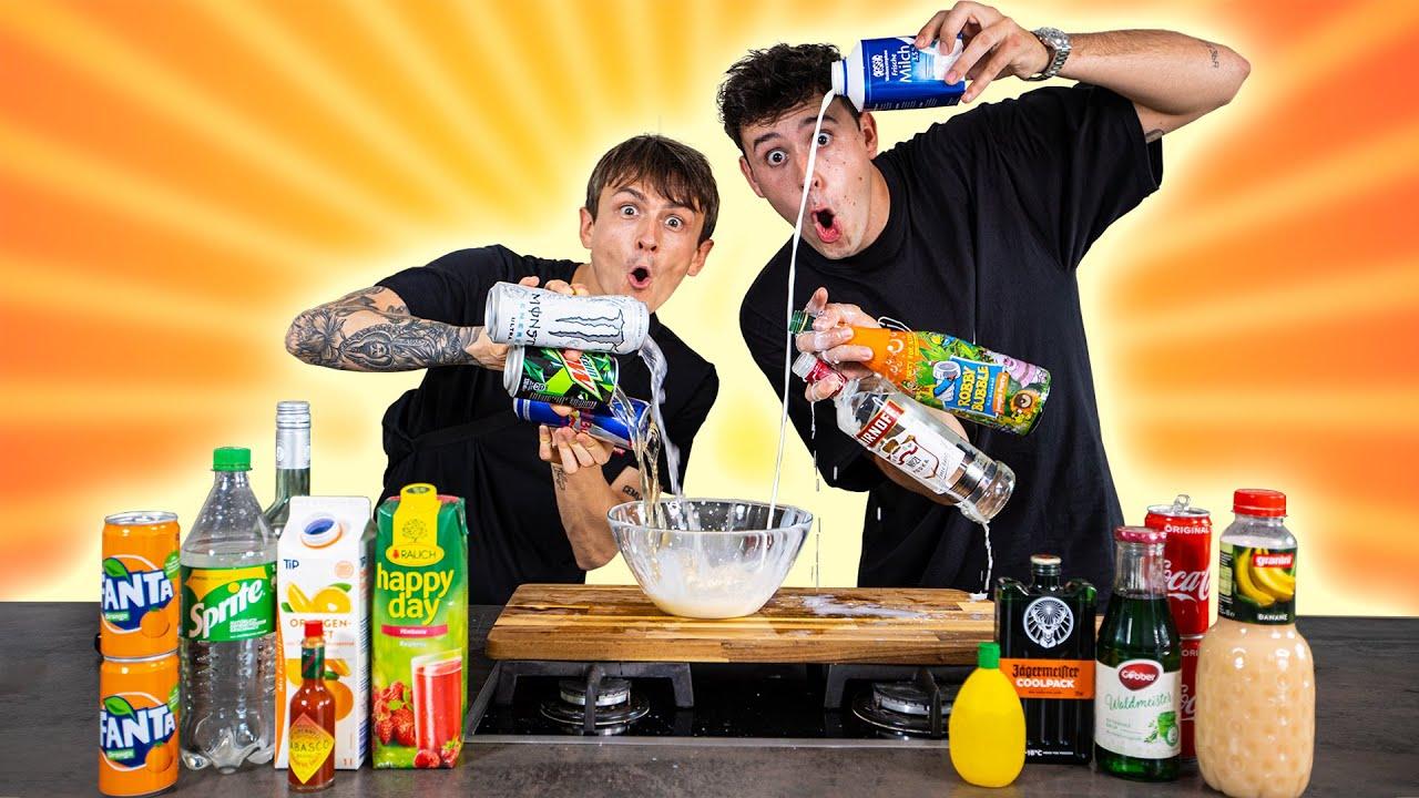 Wir probieren eure ekligsten Getränke-Kombinationen ????TEIL 2