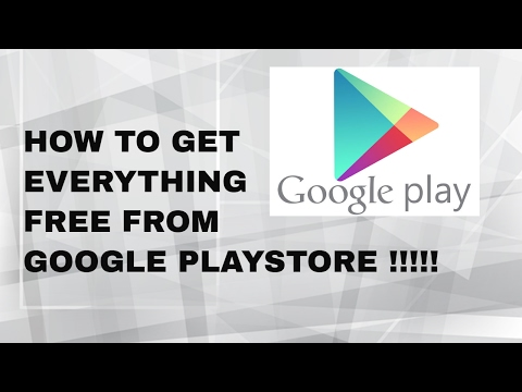 HOW TO GET EVERYTHING FREE FROM GOOGLE PLAYSTORE !!!! FOR ANY ANDROID | IN HINDI