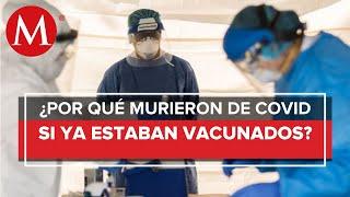 Pese a estar vacunadas, mueren por covid-19 dos personas en San Luis Potosí