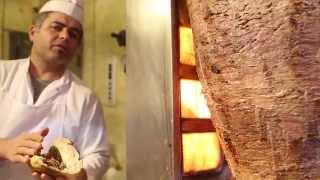 istanbul street food | doner kebab (beşiktaş karadeniz döner) - turkey street food