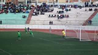 جانب من مباراة سريع غليزان ضد شبيبة تيارت ولقطة الهدف الثالث 15-03-2014