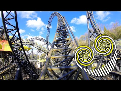 The Smiler 4K Front Seat POV - Alton Towers Resort
