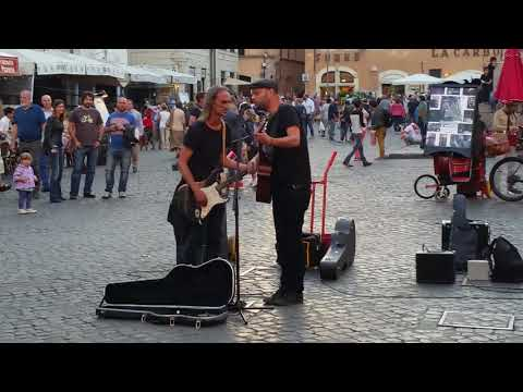 Time,  Pink Floyd lover guitar voice, Pantheon Rome Italy