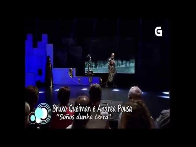 Andrea Pousa e Bruxo Queiman, éxito a la vista