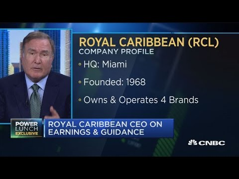Royal Caribbean CEO says company has been overcoming rising fuel costs