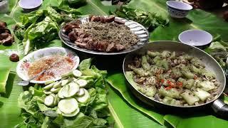 Giao lưu cùng các anh kênh Trường Giang TV.lòng rắn hổ mang xào mướp.món ăn độc lạ