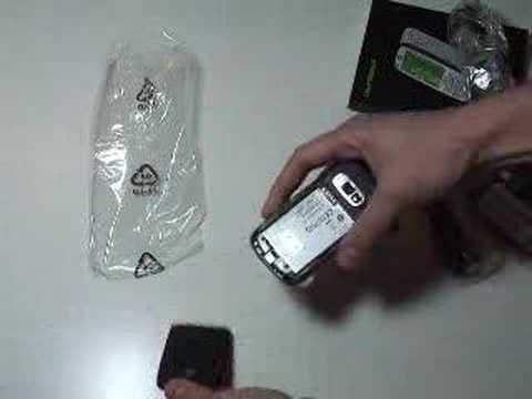 HTC s710 Unboxing