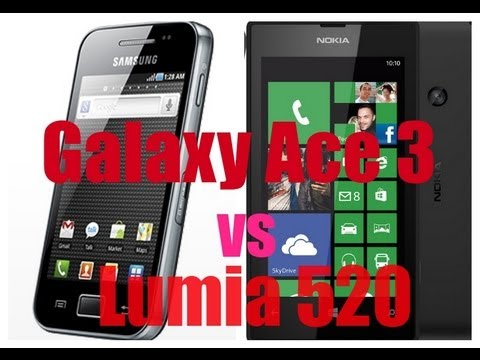 Samsung Galaxy Ace 3 vs Nokia Lumia 520 [Spec Comparison]