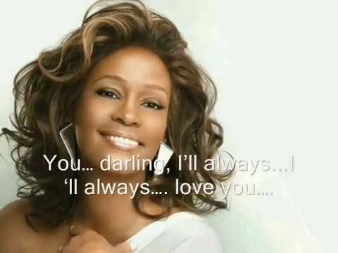 Aku Akan Selalu Mengasihimu - I Will Always Love You - Whitney Houston (with Lyrics)