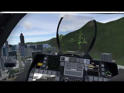 VTOL VR Custom mission test
