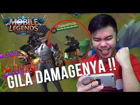 "Nyobain SKIN hero baru ROGER! Gila ini hero bener"" sadis ! - Mobile Legends Indonesia #6"