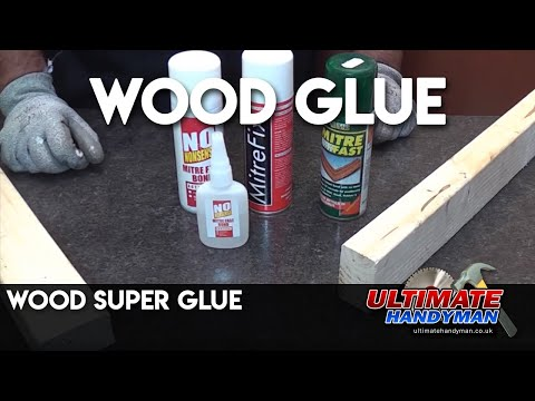 Wood super glue
