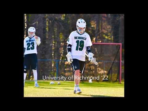 Jack Delligatti (Richmond '22) 2017 Summer Lacrosse Highlights