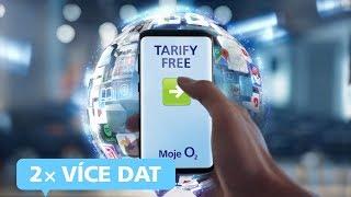 Nové tarify FREE - 2x více dat