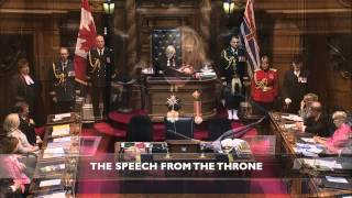 Infrastructure - 2014 Speech from the Throne