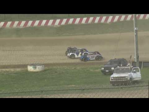 Brushcreek Motorsports Complex | 8/5/17 | Hard Crash & Roll Over