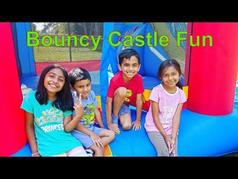 Bouncy Castle Fun for Kids