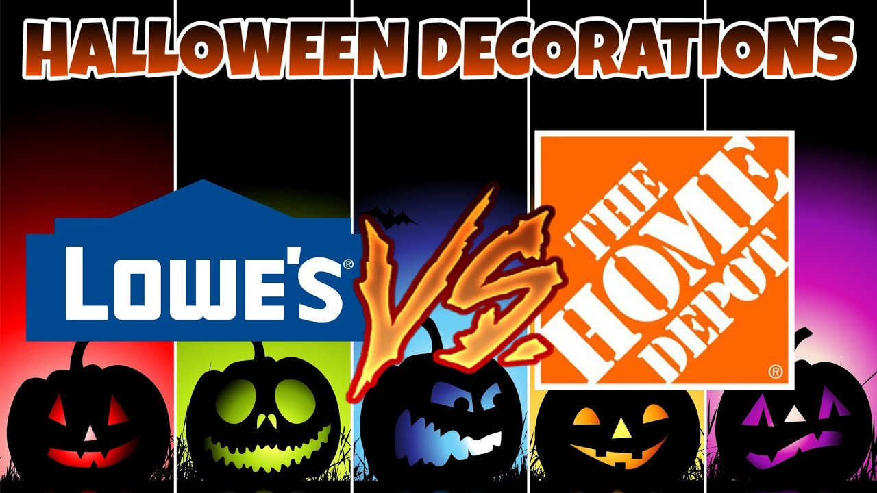 Decorations Lowes Vs Home Depot Animatronics Inflatables Ping 2018
