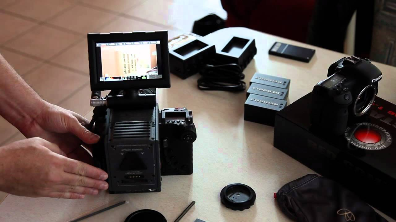 red scarlet assembly and first shots youtube rh youtube com Red Olympus Cameras Red Alexa Camera
