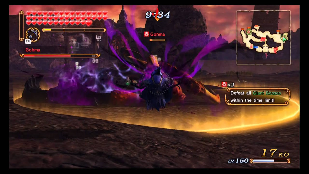 How to defeat gohma in hyrule warriors - Hyrule Warriors Max Rupees Glitch Wizzro Edition